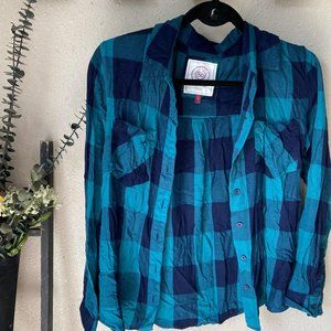 2 for $20 American Heritage Emerald & Navy Plaid L